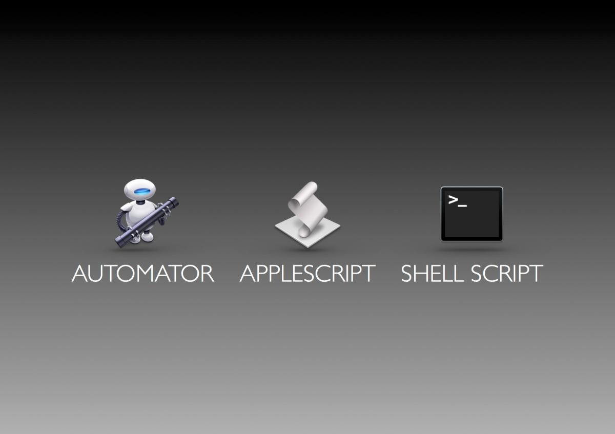 Automation on the Mac